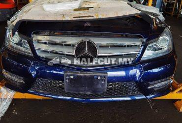 Mercedes Benz c class w204 cgi turbo half cut