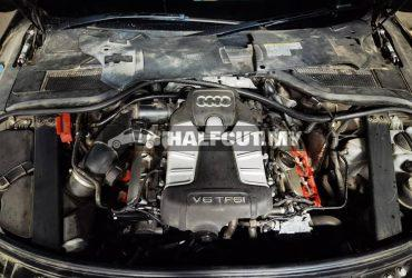 Audi A8 3.0 supercharged half cut
