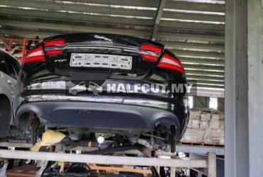 Jaguar xf 2015y 2.0 petrol turbo half cut