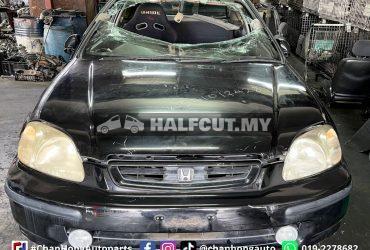 Honda Civic EK3 Half Cut & Rear Cut